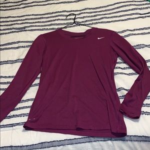 Small Long Sleeve Nike